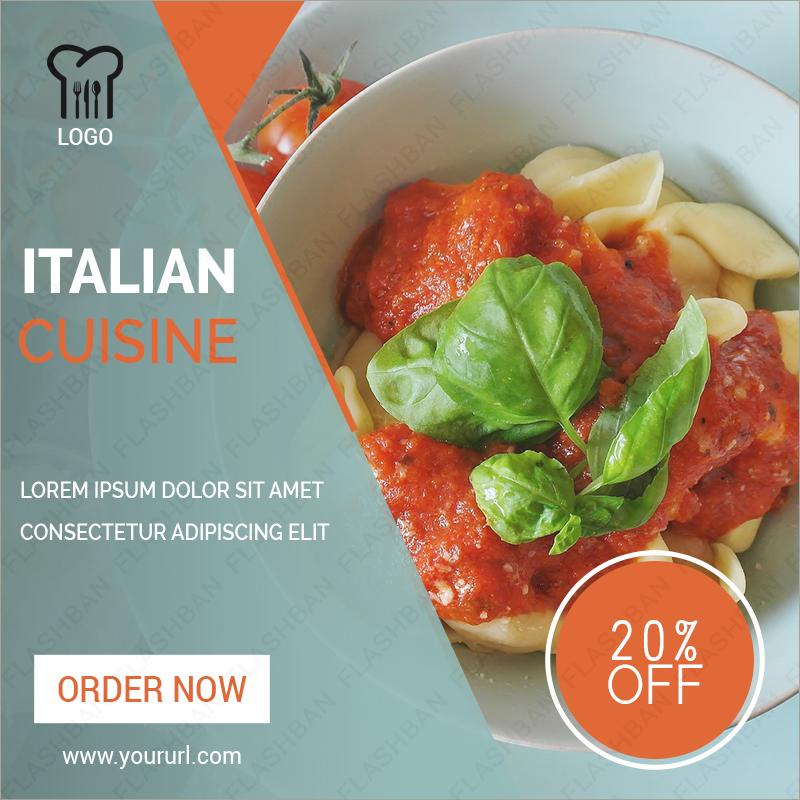 Italian Ad Banner