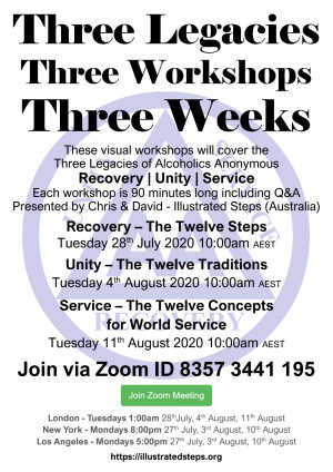 The Three Legacies Workshops