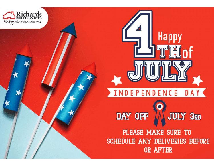 richards 4th of july social media post