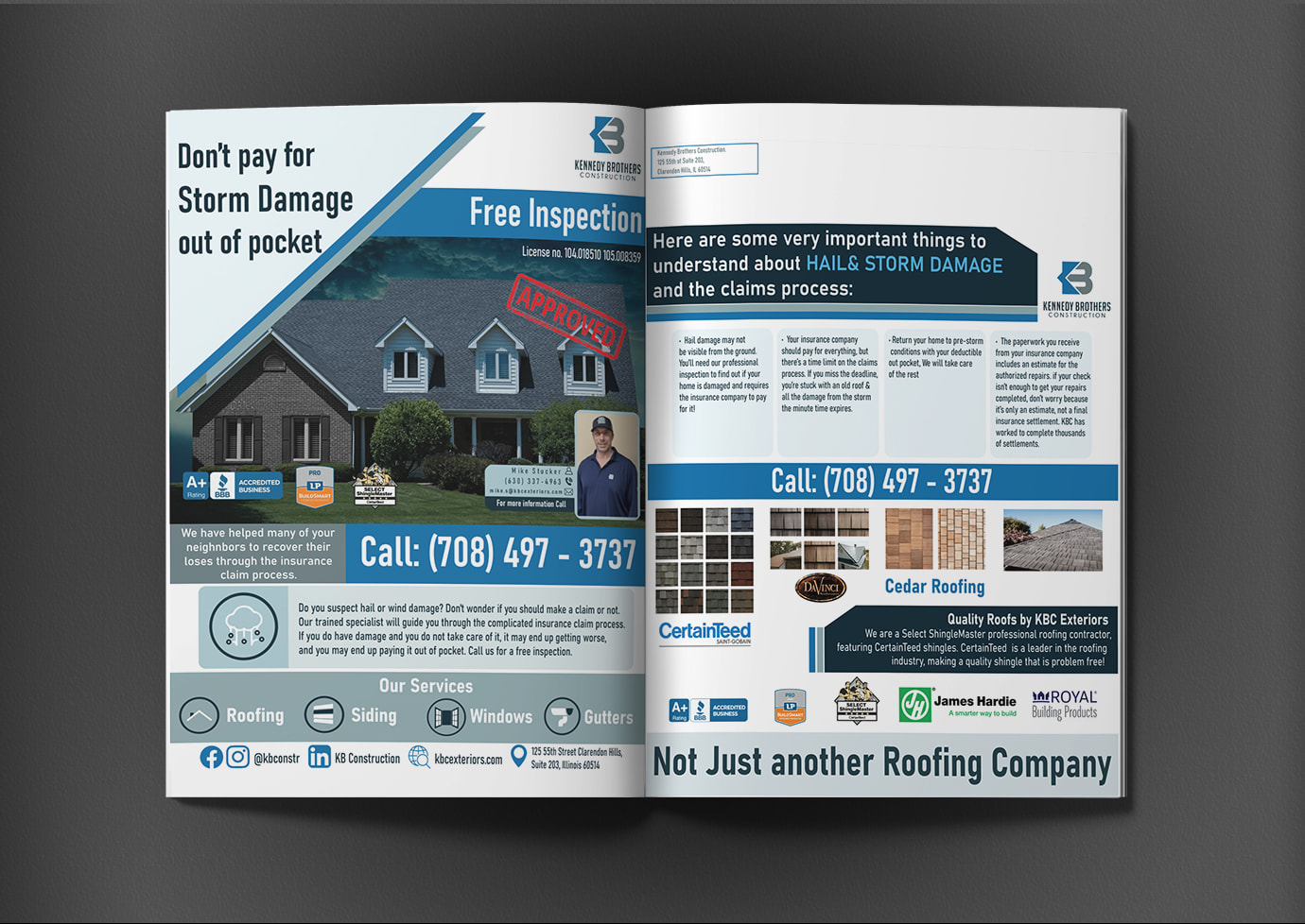 catalog for kbc construction company