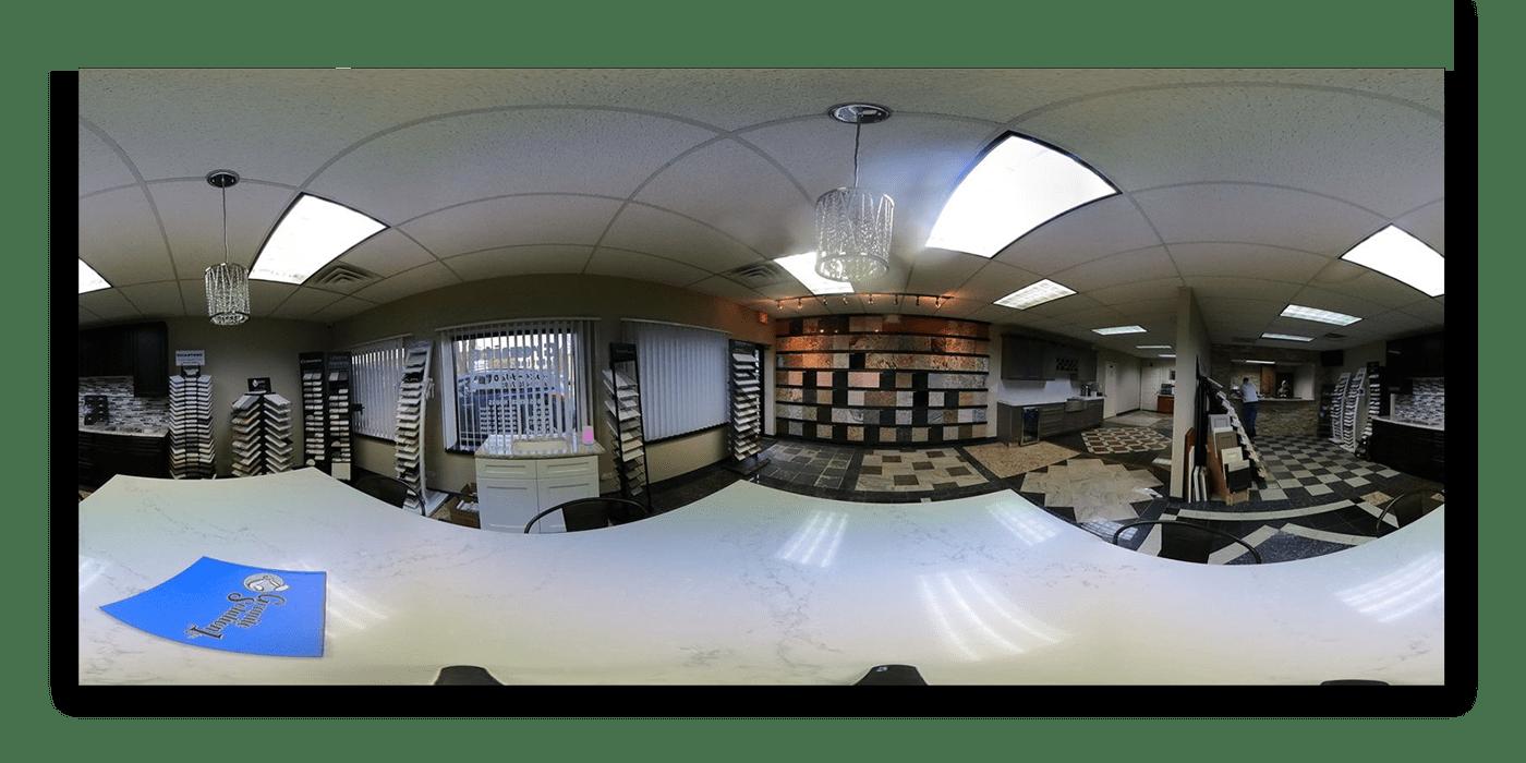 360 granite solution installation photgraphy