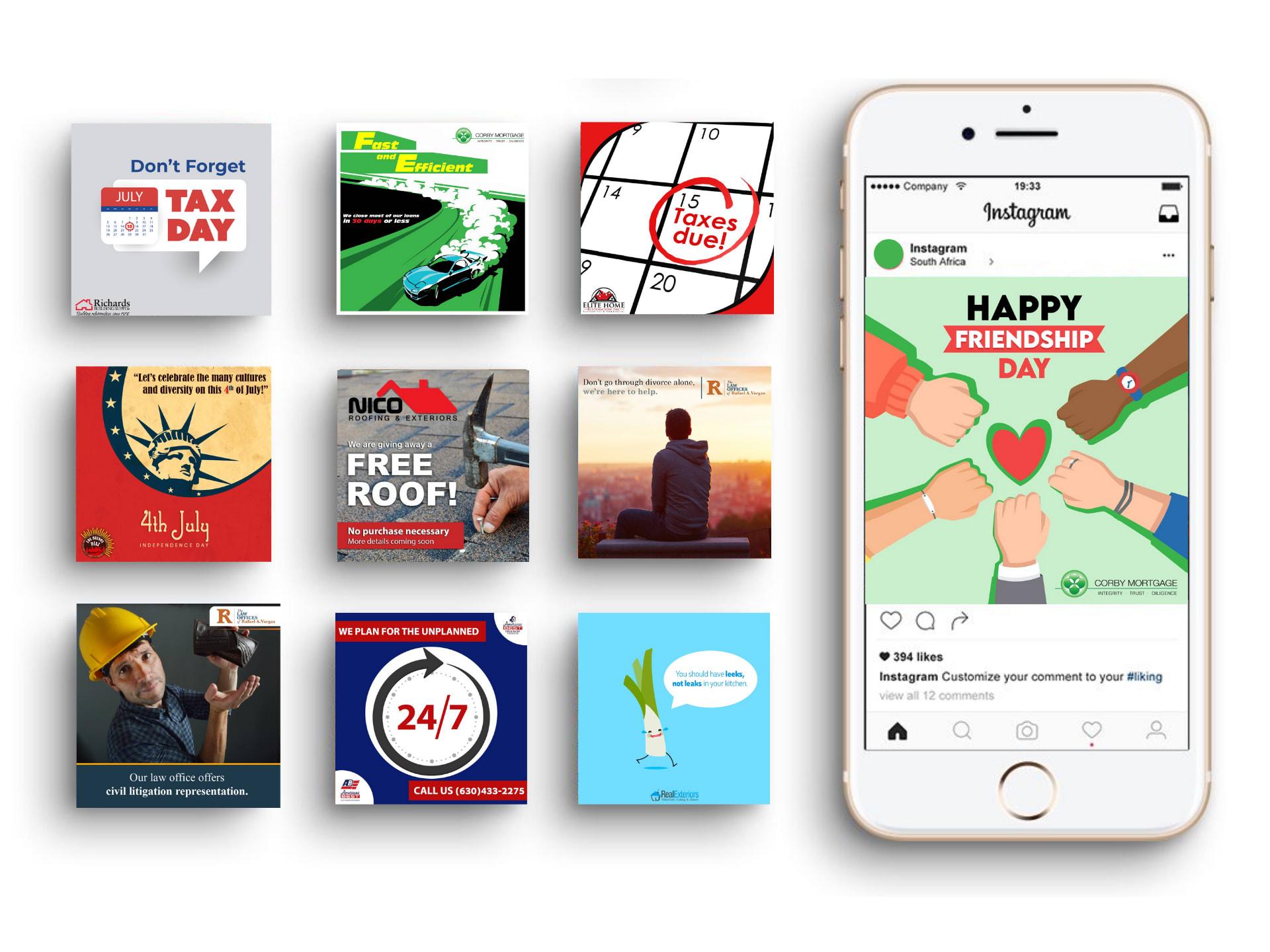 social-media-portfolio-page-mockup