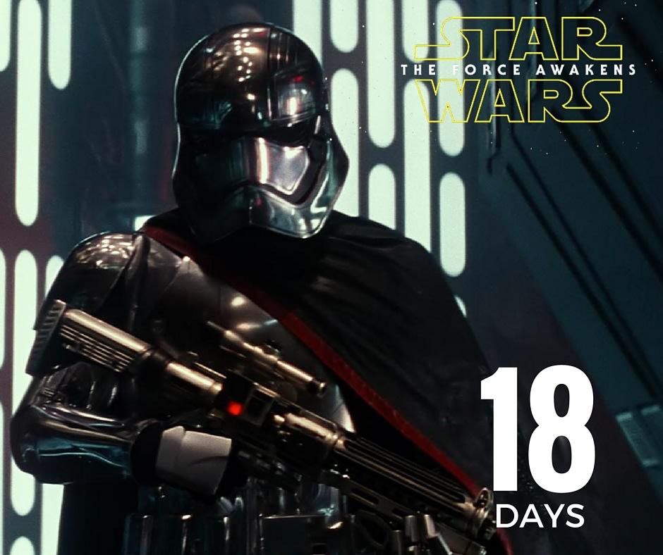 Star Wars – 18 days