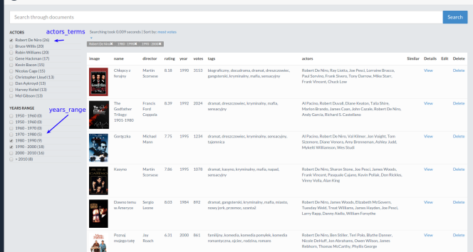 Creating search API for movies with Elasticsearch and