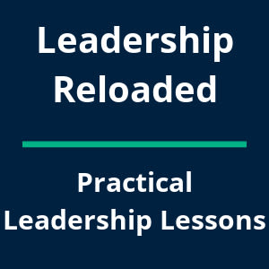 Leadership Reloaded Text Image
