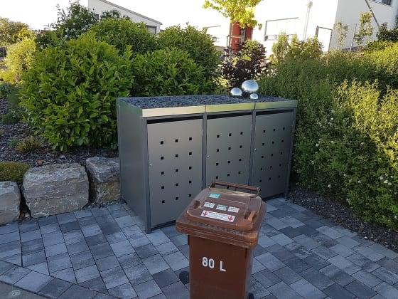 Mülltonnenbox kaufen: Wo günstig bekommen? [4 Materialvarianten]