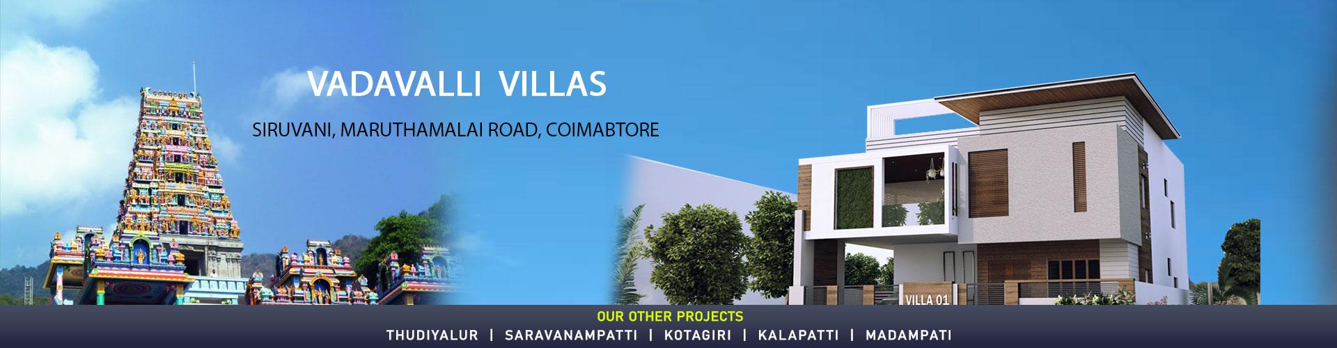 Premium Villas for sales in Coimbatore