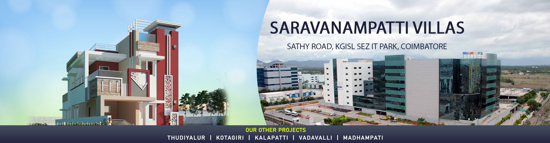 Individual House for sales in Coimbatore