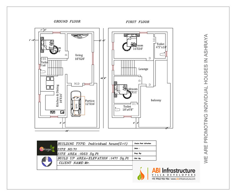 Luxary villas for sale in Thudiyalur, Coimbatore