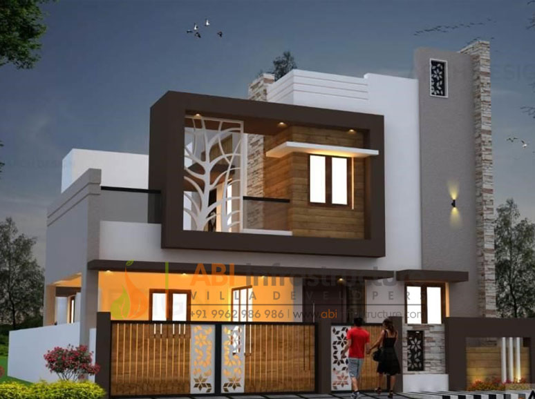 Gated community villas in Vadavelli, Coimbatore