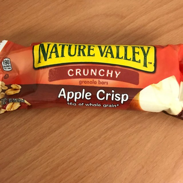 Nature Valley Apple Crisp Granola Bars | abillionveg
