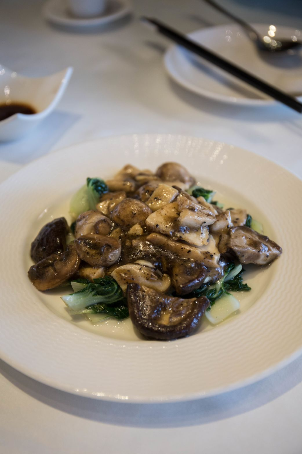 Stir-fried Mushrooms