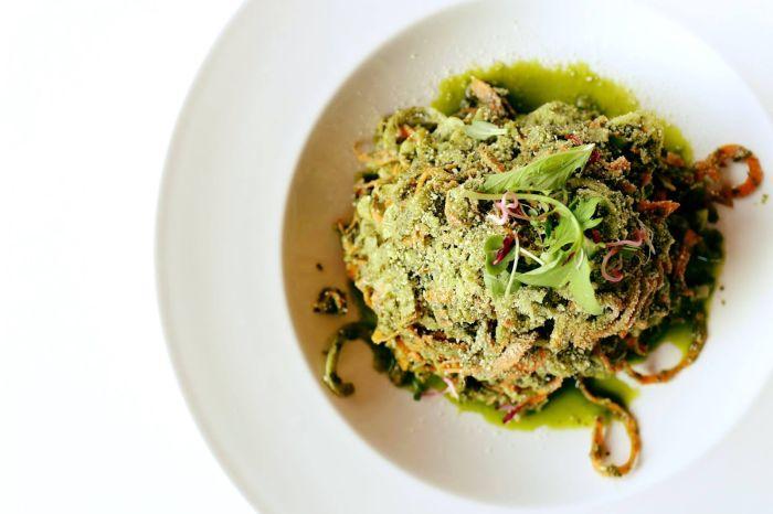 Pesto Spoodles