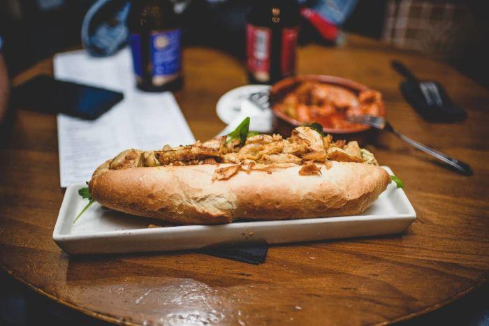 Frankfurt Vegan Sandwich