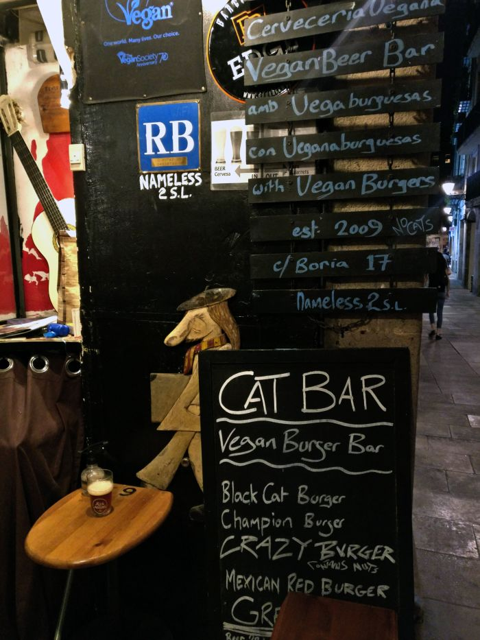 Black Cat Burger at Catbar