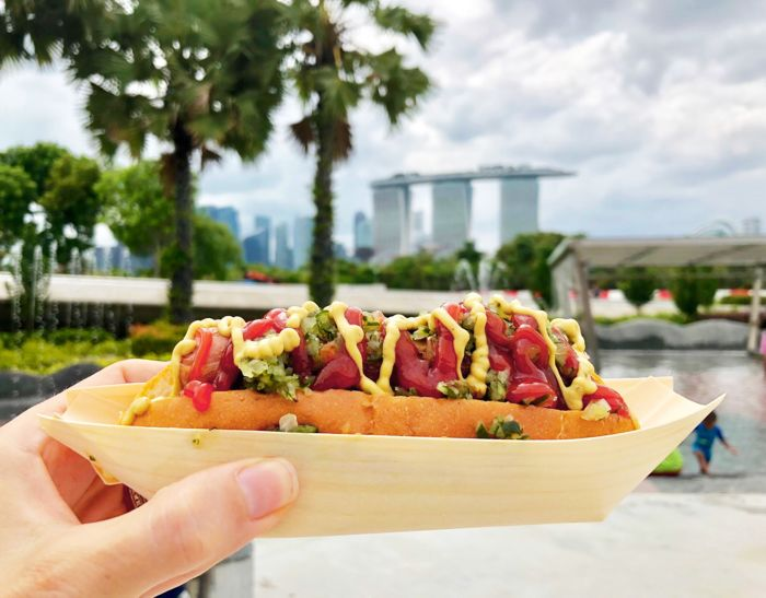 Beyond Meat Hot Dog