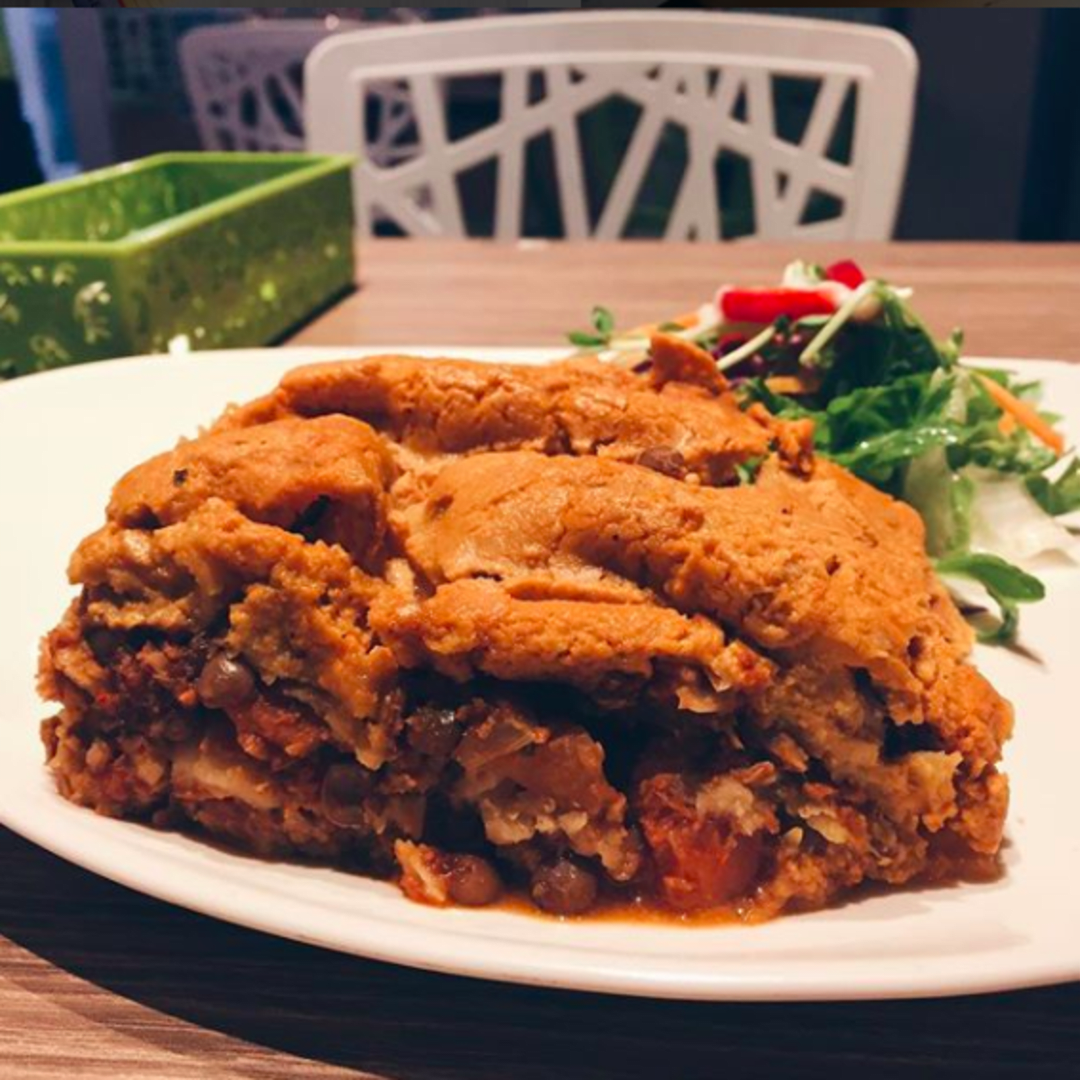 photo of Genesis Vegan Restaurant Lasagne shared by @consciouscookieee on  15 Apr 2018 - review