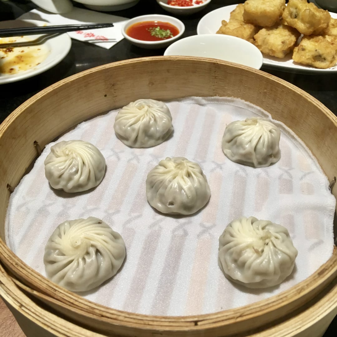 photo of Din Tai Fung Steamed Yam Dumplings shared by @vikas on  07 Aug 2018 - review
