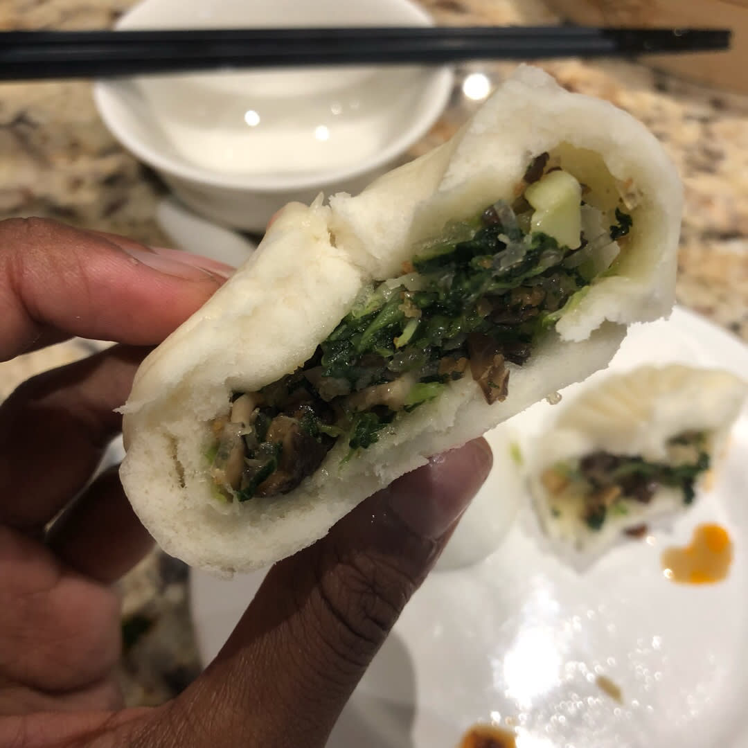 photo of Din Tai Fung Vegetable bao shared by @alyrauff on  20 Aug 2018 - review