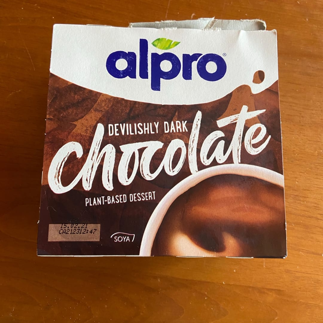 photo of Alpro Dark Chocolate Dessert shared by @mazzo96 on  31 Aug 2020 - review