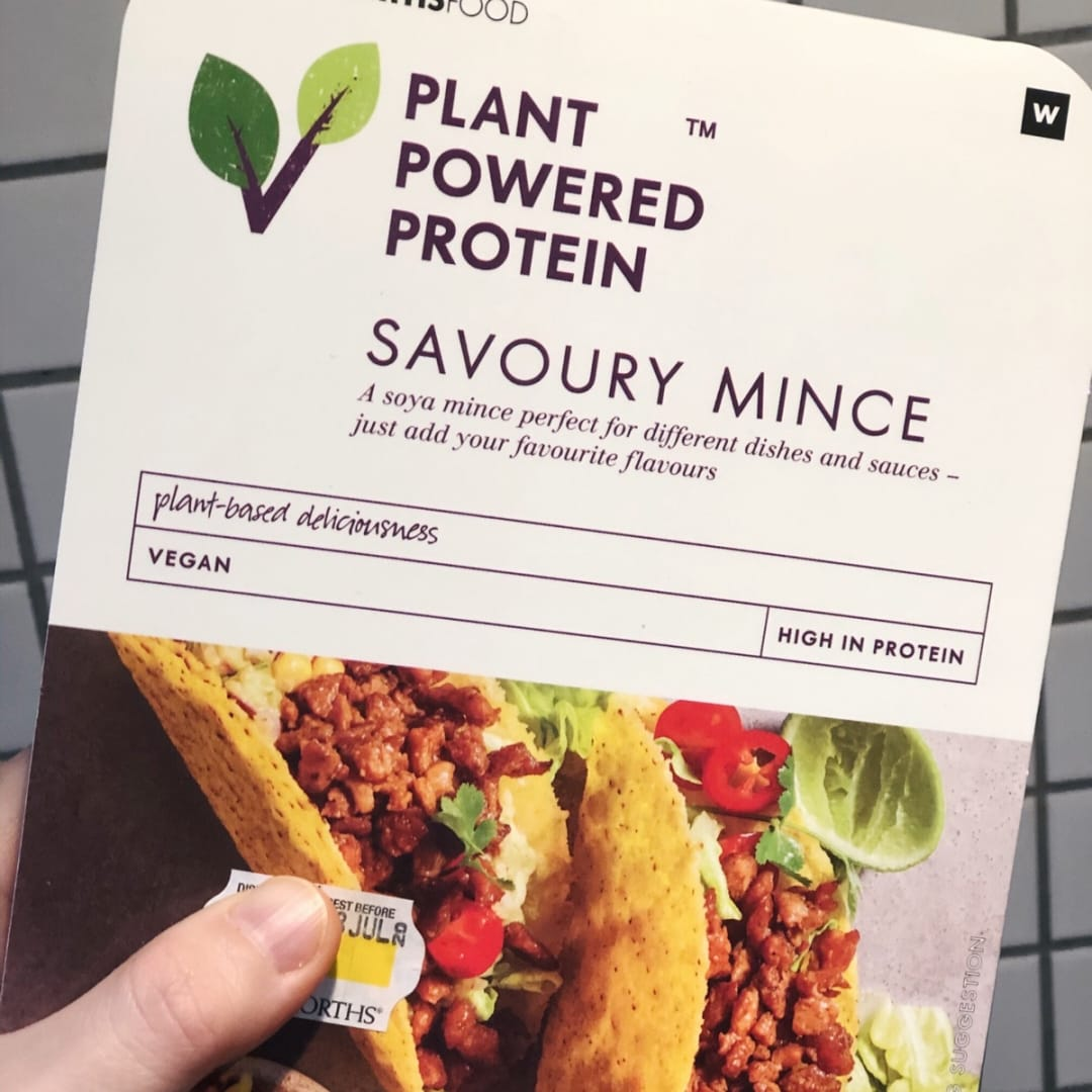Woolworths Sa Plant Powered Protein Savoury Mince Reviews Abillion
