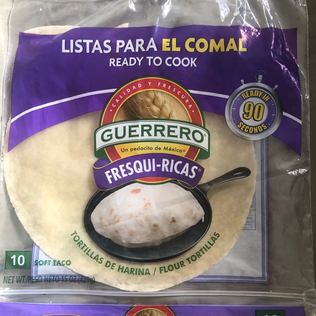 Guerrero Fresqui Ricas Flour Tortillas Review Abillion