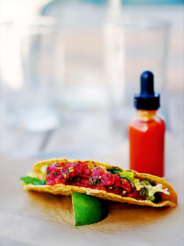 Vegan Chorizo Taco
