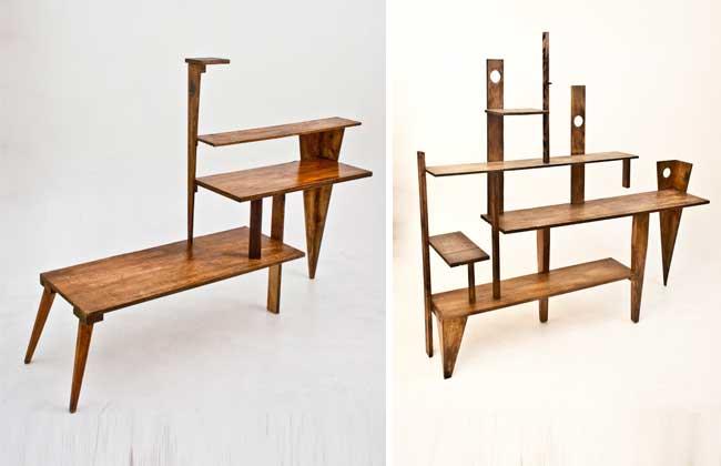 Móveis-objeto por Renato Larini