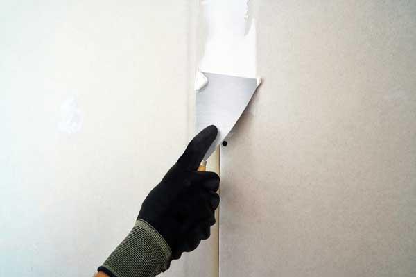 Tratamento de juntas de drywall