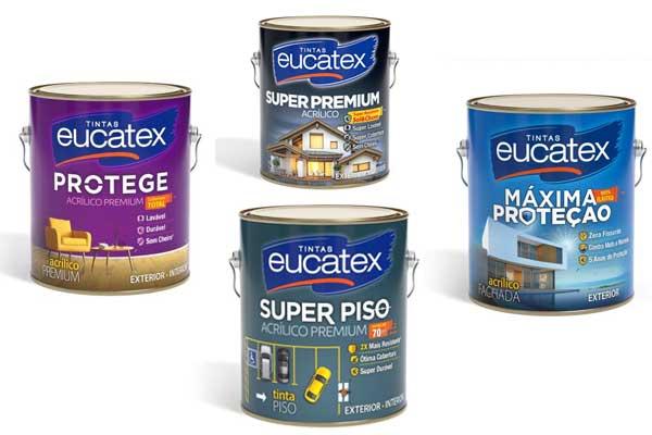 Eucatex explica onde usar cada tipo de tinta acrílica