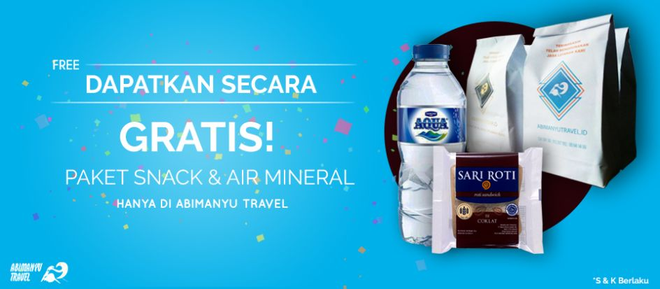 PROMO-FREE-SNACK-AND-DRINK-ABIMANYU-TRAVEL