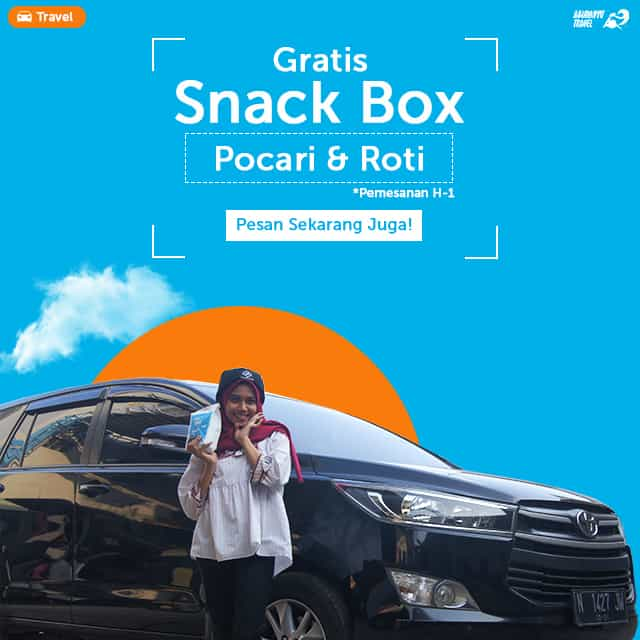 Promo Pocari & Roti Travel Malang Juanda Surabaya
