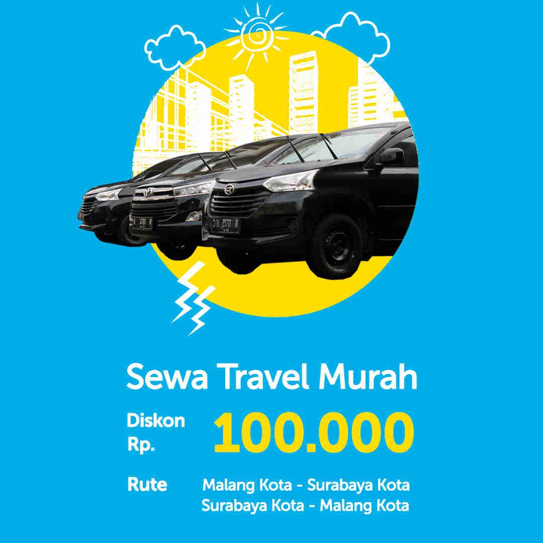 Diskon Travel Malang Surabaya