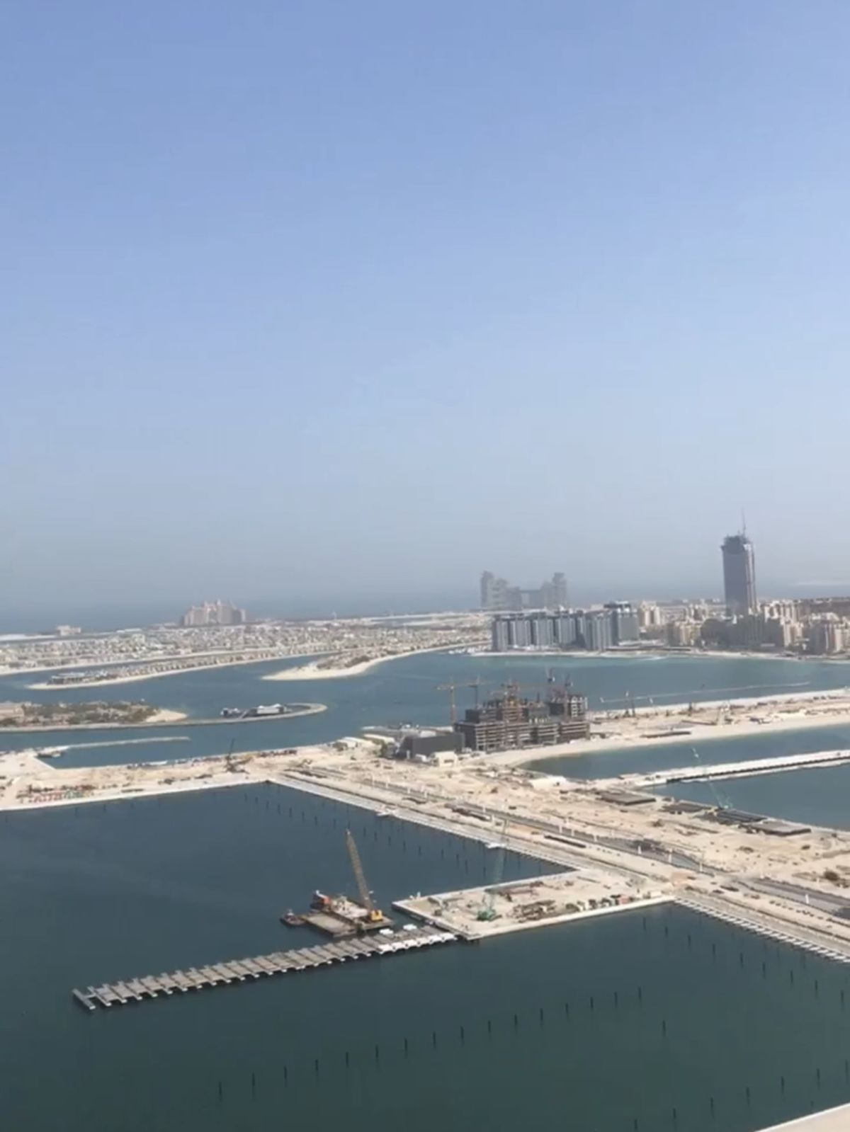 Emaar Beachfront Update August 2019