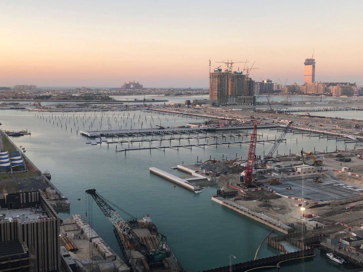 Emaar Beachfront Update January 2020