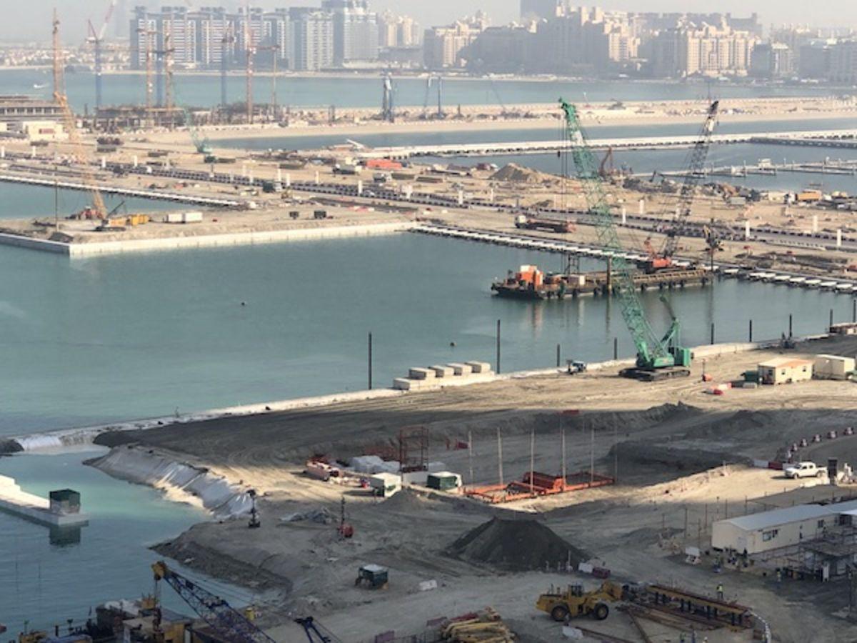Emaar Beachfront Video Update July 2019
