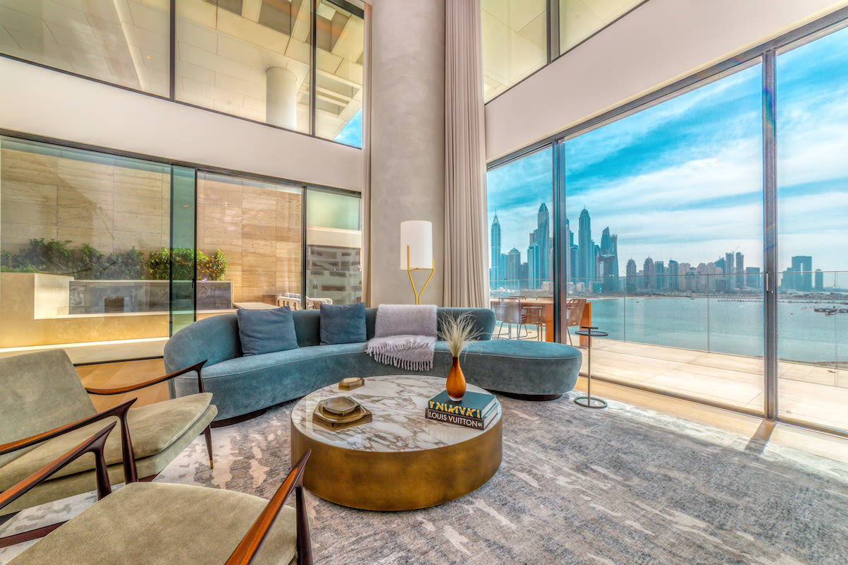Buy a luxurious Penthouse Apartment in One at the Palm Jumeirah - Dorchester Collection