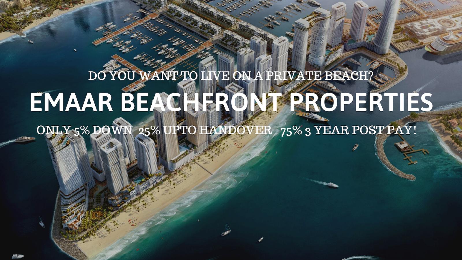 Dubai Harbour resort style living