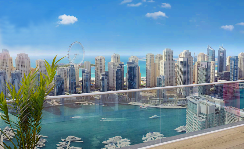 apartment in dubai vida residence marina for sale