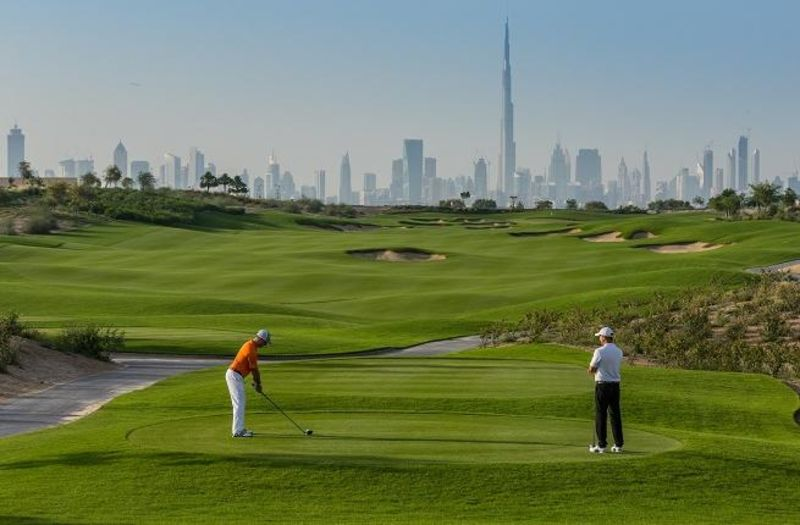 Golf Links at Dubai South