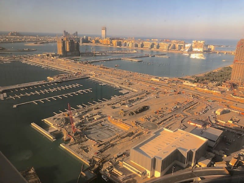 Overview of Emaar Beachfront