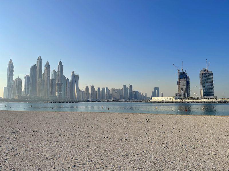 Emaar Beachfront view of Dubai Marina