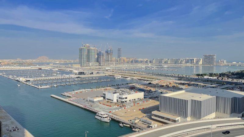 Largest marina in Dubai