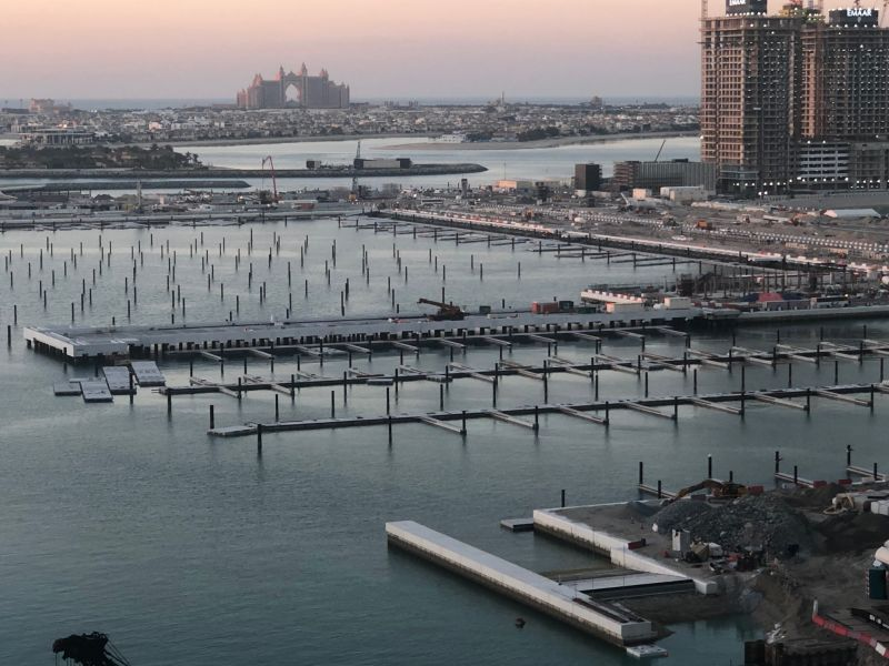 Marina Berths at Emaar Beachfront