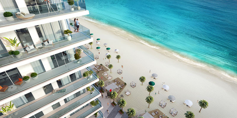 BUY EMAAR BEACHFRONT 1 BEDROOM APARTMENT FOR SALE