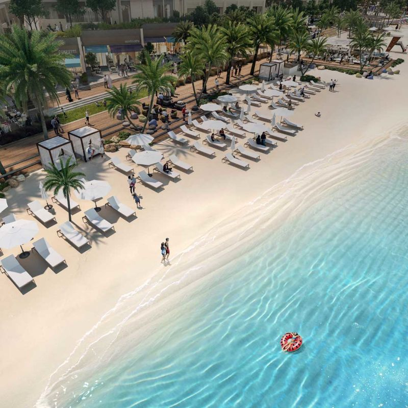 Buy 3 bedroom apartment on Emaar Beachfront