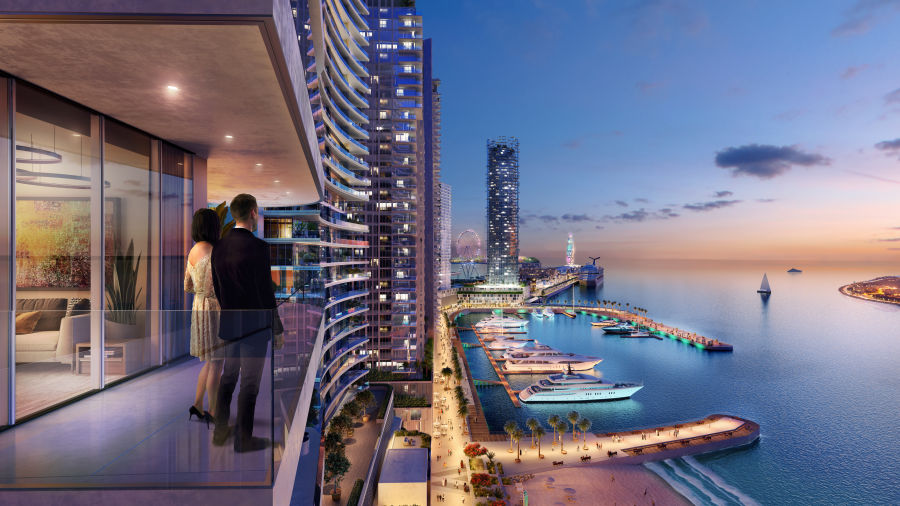 emaar beachfront updates Marina Vista