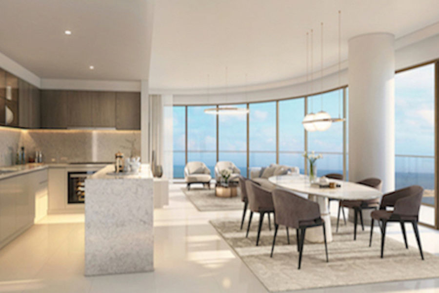 grand bleu emaar beachfront for sale