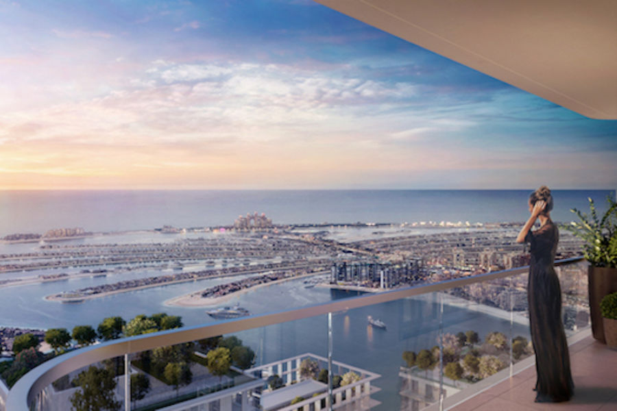 marina vista emaar beachfront for sale