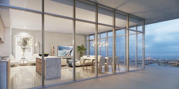 rent 2 bedroom apartment Emaar Beachfront Dubai